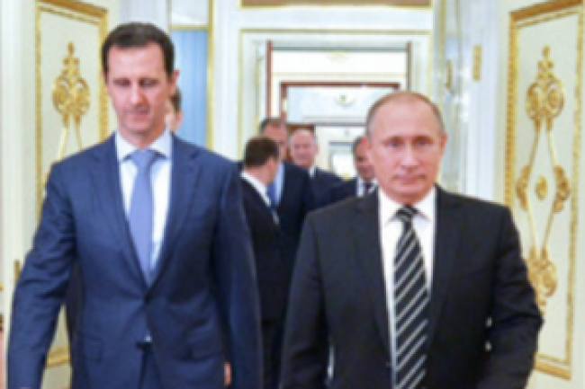 Putin and Assad meeting in Moscow