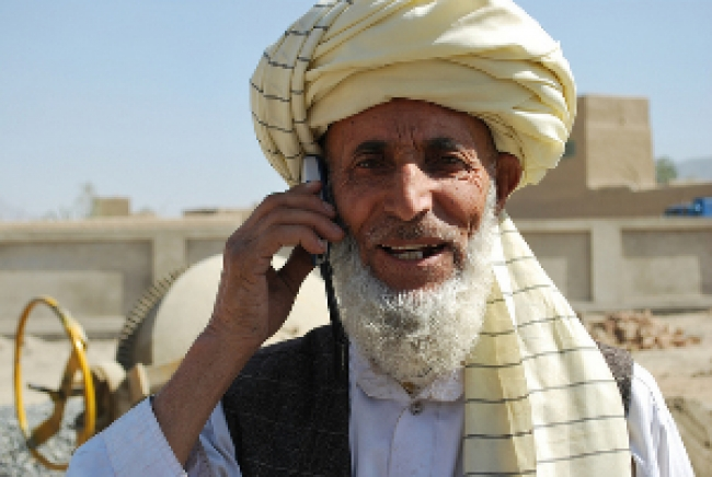 Afghanistan's Post-Taliban Telecommunications Revolution Will Include Satellite Access