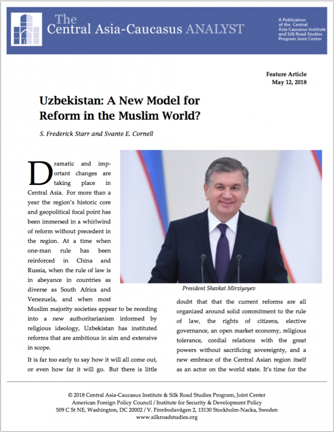 Uzbekistan: A New Model for Reform in the Muslim World?