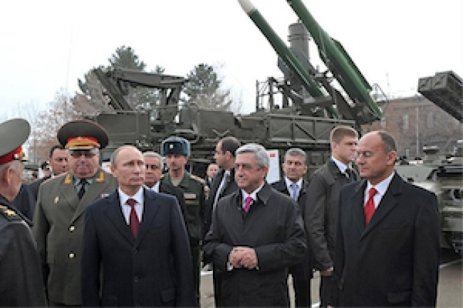 Russia and Armenia establish joint ground forces