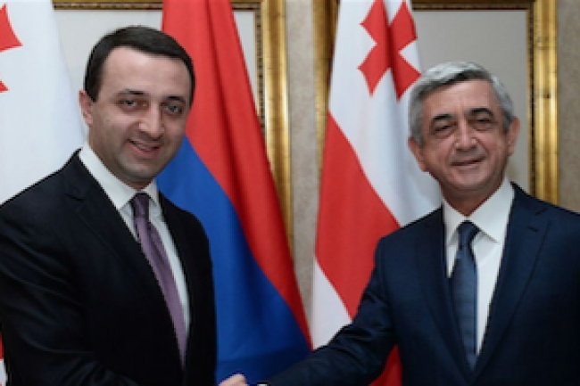 Azerbaijan's and Armenia's presidents discuss gas trade in Tbilisi