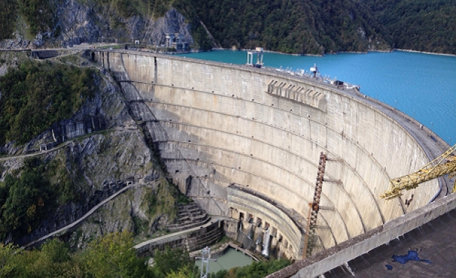 Keeping the Adversary's Lights on: Enguri Dam and Electricity Politics in Georgia