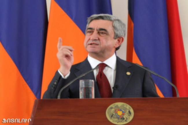 Armenia's President Faces A Difficult Second Term