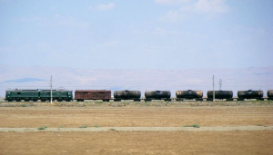 Train in Azerbaijan